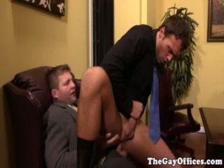 Büro Sex mit Muskel Chef Colby jansen