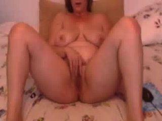 meine wirkliche Frau Linda rieb sich sanft für Freundin auf skype