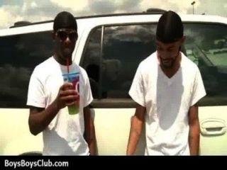 muskulösen schwarzen Homosexuell Jungen weiß Twinks hardcore 04 demütigt