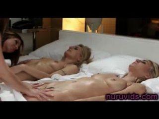 heiße Lesben Gruppe Massage
