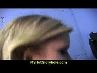 sexy wilde Dame Deepthroats bei Gloryhole 2
