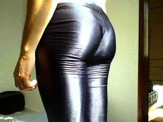 Shorts lycra glänzend