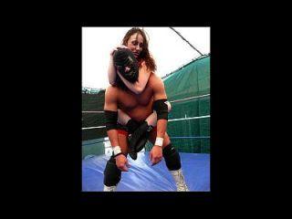 weibliches Wrestling und gemischtes Wrestlingvolumen 5