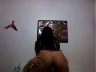 hispanischer Bruder und Schwester mit Sex