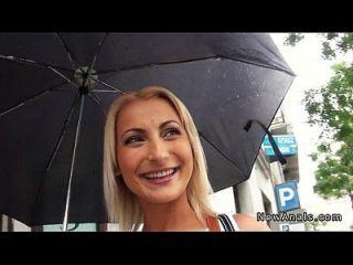 schöne blonde Amateur anal gefickt Pov