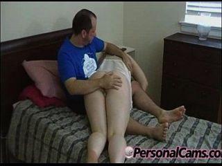 brunette amateur bekommt curvy ass spanked404 [14]