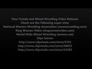 neue weibliche Wrestling und gemischte Wrestling Video Release Volumen 7