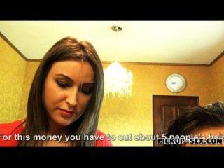 Friseur akasha cullen Arschloch für Geld gefickt