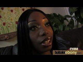 interracial bukkake sex mit schwarzem porn stern 8