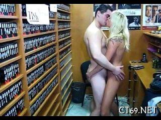 Pickup endet mit einem sexy Sex