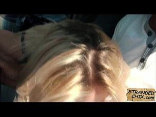 Tschechische schöne blonde Babe