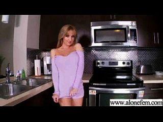 sexy heiße weibliche Gebrauch Dildo Sex Spielzeug bis zum Höhepunkt Film 06
