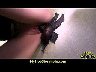 geile dame genießt gloryhole cocksucking interracial 30