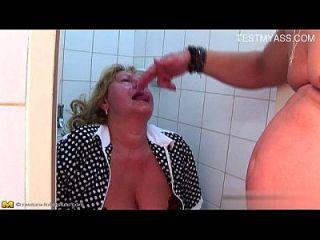 heiße Schlampe hausgemachte Gesichtsbehandlung