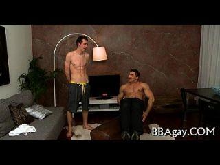 homo guy gibt lusty anal lecken