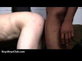 muskulöse schwarze dudes fuck homosexuelle weiße Jungen 07