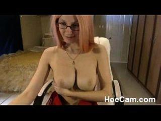 big tits blonde milf in gläser webcam necken