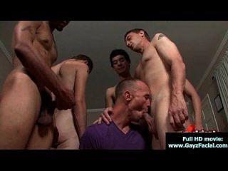 bukkake boys Homosexuell Jungs bekommen in Lasten von heißen cum 15 abgedeckt
