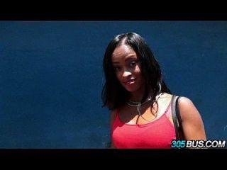 Ghetto schwarzes Mädchen gibt Arsch für Bargeld 2.1