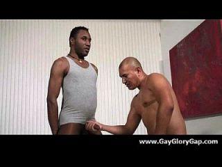 Homosexuell Hardcore Gloryhole Sex Porno und böse Homosexuell Handjobs 03