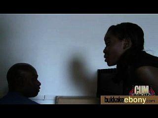 interracial bukkake sex mit schwarzem porn star 16