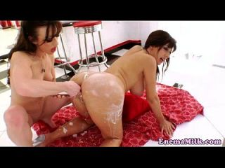 Klistier Milch Squirter Squirting