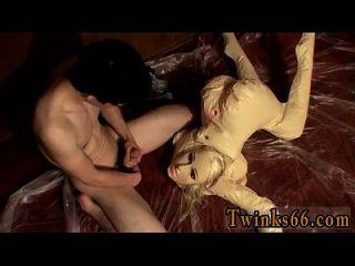 erstaunliche Homosexuell Szene der Gefährte liebt, ein Chaos mit seinem kleinen zu machen,