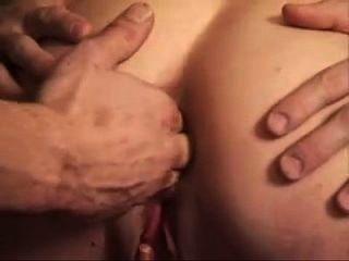 Junge Teen Hardcore in ihren Arsch und Pussy gefickt