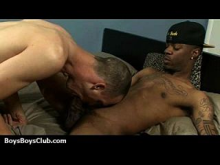 Schwarze auf Jungs interracial hardcore Homosexuell Film 23