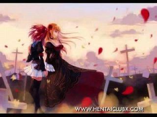 nackt niedlich sexy Anime Mädchen Tribut mit Musik 4 nackt