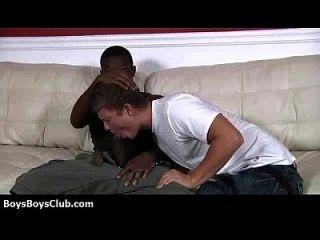 heiße muskulöse schwarze schwule Jungs demütigen weiße twinks hardcore 28