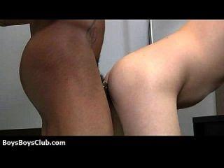 muskulöse schwarze schwule Jungs demütigen weiße Twinks Hardcore 26