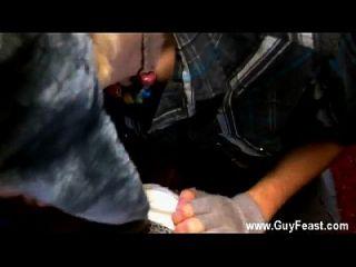 Homosexuell Film Trace van de Kamp ist zurück zu liefern seine jummy schlong zu
