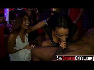 18 Sex im Verein bei cfnm Party 19