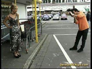 Pickup deutsche Stiefmutter für Analsex