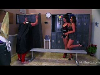 tag team !! nikki benz jessica jaymes threeway!