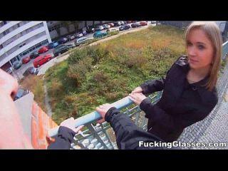 fucking glasses blonde xvideos cutie youporn tricked im Freien Teen Porno