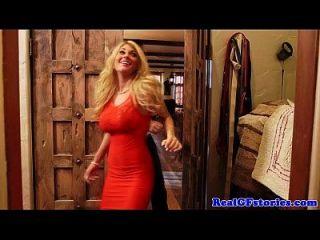 schöne busty blonde fickt ihre geilen ex