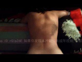 Chinesisch College Mädchen Hardcore Doggystyle dann crempied