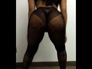 aisha diaz twerking \u0026 klatschte ihre phat Beute