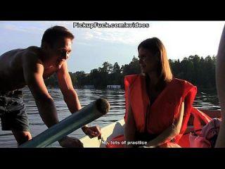 drei Männer in einem Boot (um nichts von einem Pick-up-Mädchen zu sagen) Szene 1