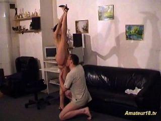 extrem flexibler Verzerrungssex