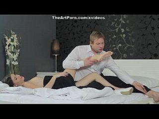 intensives Ficken von Zejinka auf dem hochwertigen Porno