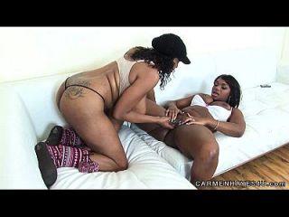 hot big titty lesbischen spaß mit carmen hayes \u0026 taylor layne