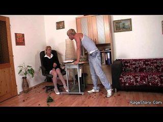 Hardcore Hahn Reiten für schlampige Hündin
