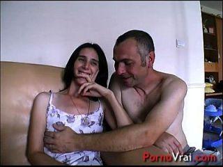 überraschung elle ejacule sans pouvoir se retenir !!! französischer Amateur