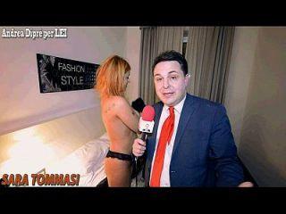 sara tommasi: video porno con andrea diprè!