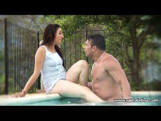 Ficken wie Romantiker im Pool