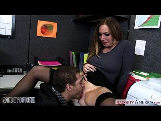 Busty Büro Babe Tiff Bannister Ficken