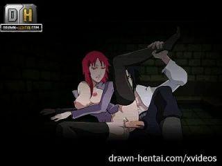 naruto porn karin kommt, sasuke cums